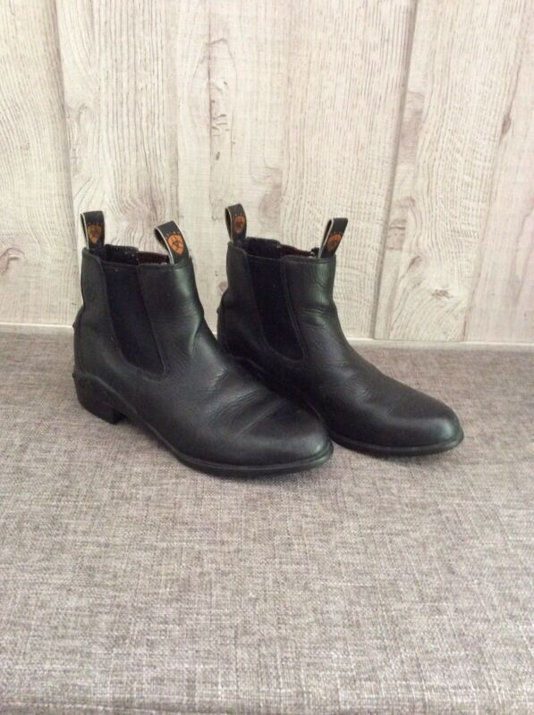 Child's Ariat Black English Riding Boots Size 2