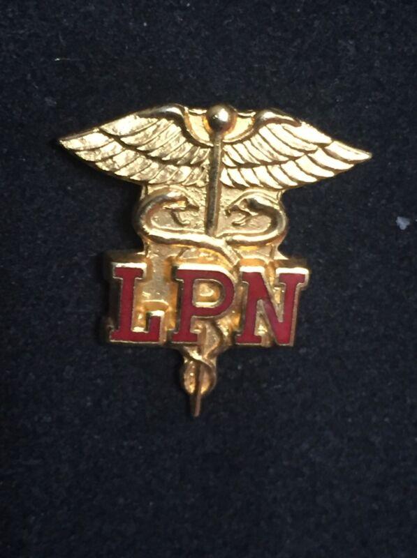 US MEDICAL PROFESSION LICENSED PRACTICAL NURSE LPN Enamel PIN