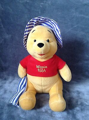 Disney Winnie The Pooh Seaside Plush Toy Brand New With Tags