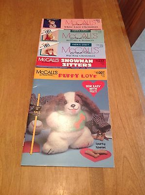 Lot of 5 McCALL'S CREATES Booklets