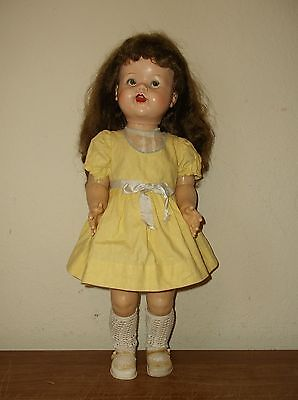 "She is Beautiful Vintage Ideal's Saucy Walker 22"" Walking Flirting Doll Baby"