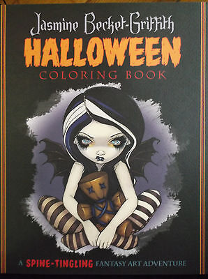 Halloween Coloring Paper (BRAND NEW! HALLOWEEN COLORING BOOK PUMPKINS WITCHES SKELETONS PREMIUM ART)