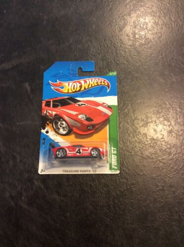 Hot Wheels Treasure Hunt Ford Gt For Sale - 2