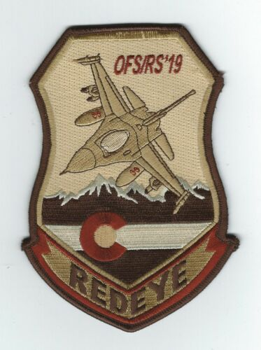 120th EXPEDITIONARY FIGHTER SQUADRON F-16C+  OFS/RS