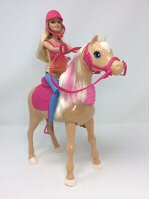 Mattel Barbie & Her Sisters Dancin Fun Horse Dances Doll Playset Plays Songs