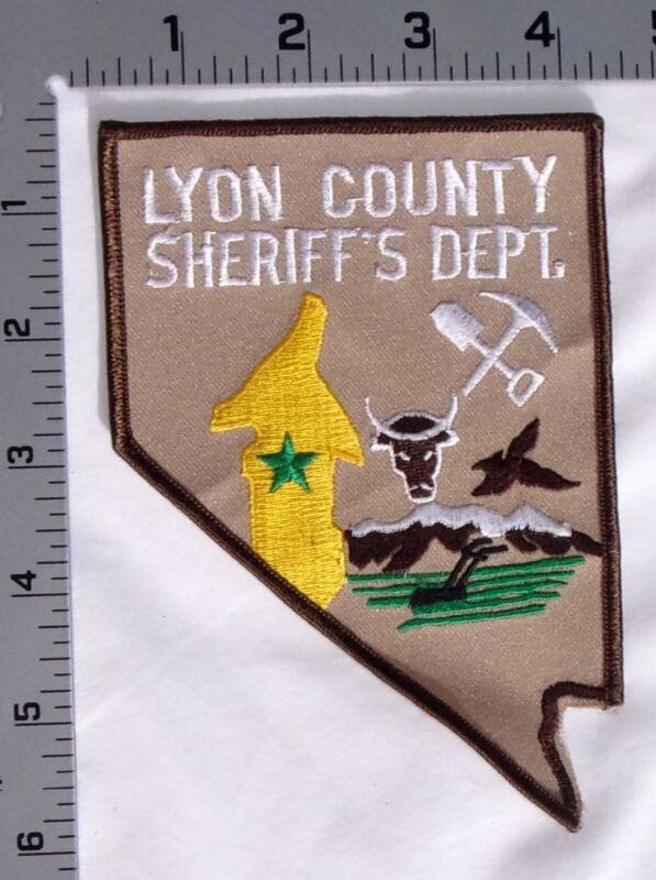 Lyon County Nevada Sheriff Department Shoulder Patch