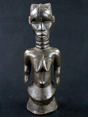 Art African Tribal - Statue Fetish Stake de Protection Champ Dan - 30 CMS