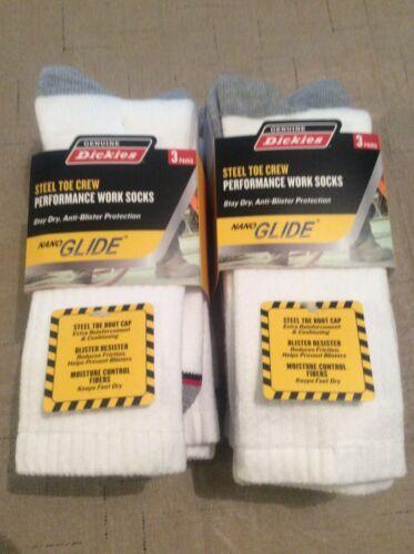 steel toe work sock shoe size 6