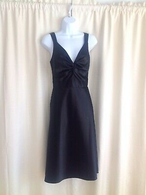 Donna Morgan Little Black Dress - Size 10 - (Macys Little Black Dress)