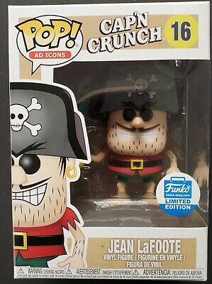 Jean LaFoote Limited Edition Cap'n Crunch Funko Pop #16