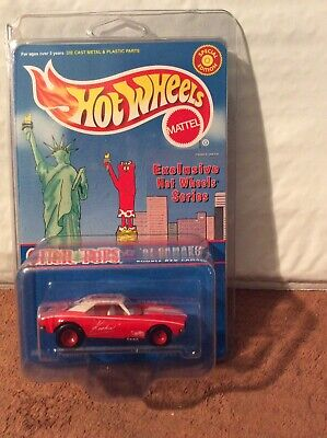Hot Wheels Otter Pops 67 Camaro Kookie Red Special Edition Die Cast Vehicle New