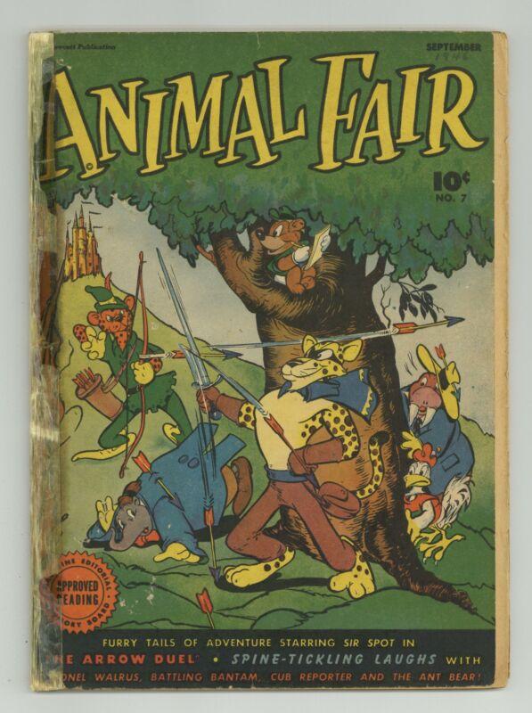 Animal Fair #7 PR 0.5 1946 Low Grade