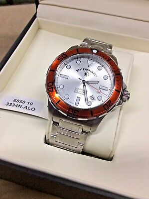 West End Watch Co Swiss Impermeable Diver 6850.10.3334N-ALO - New in Box