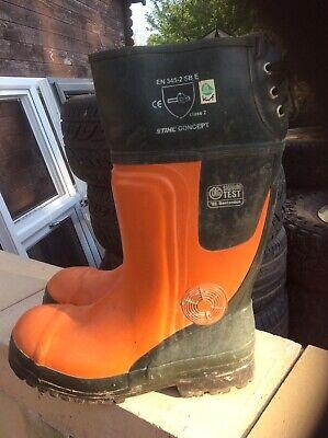 Stihl Chainsaw Boots Size 42 Size 8