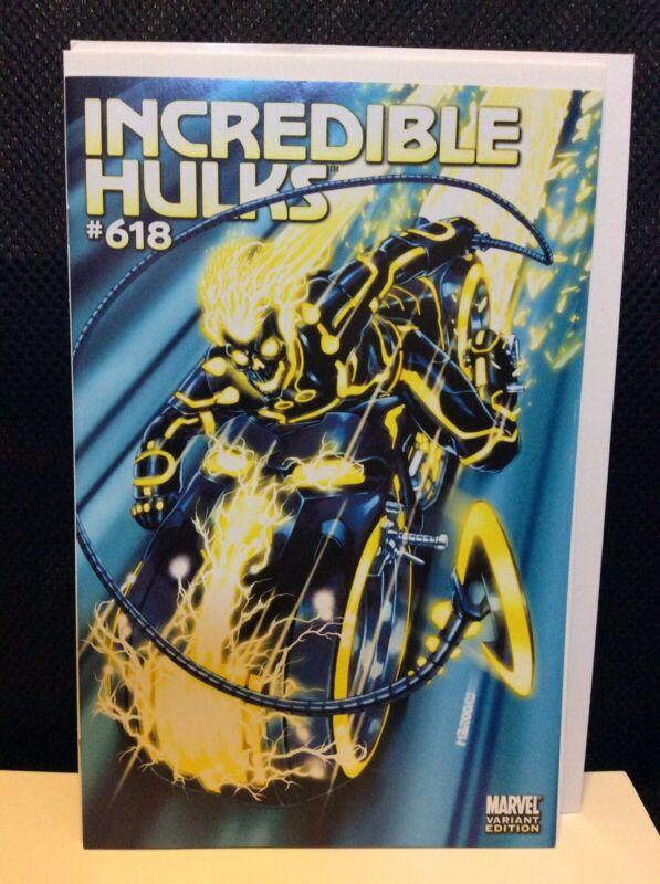 Incredible Hulks #618 Tron Variant