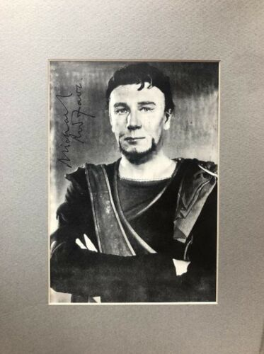 Michael Redgrave- Signed Photograph Matted