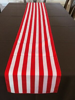 Table Striped (lovemyfabric Cotton 1 Inch Striped Print Table Runner For Party, Home)