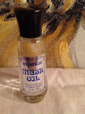 Mystical light Musk Essential Oil Perfume Vintage Unused 1/2 oz Olfactory Corp  ()