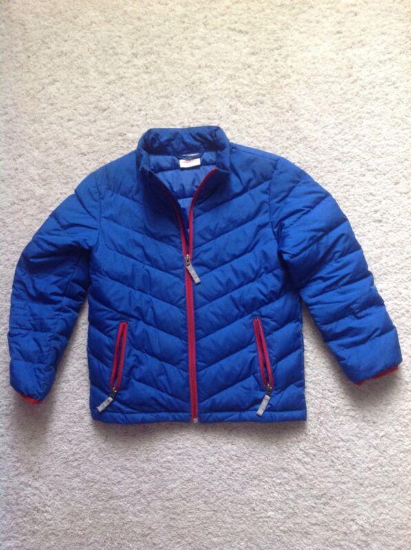 hanna anderson VGUC 130 Boys Down Jacket/coat Blue