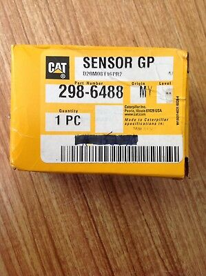 Genuine Oem Cat Caterpillar Part 298-6488 Sensor Pressure Brand New