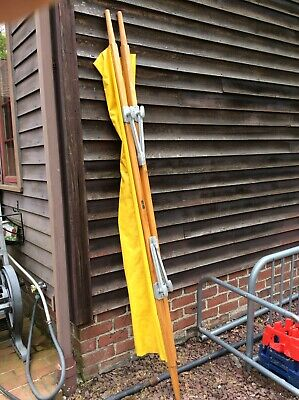 Vintage Gold Metal Co. 89 Long Collapsable Medic Stretcher -well Made Very Good