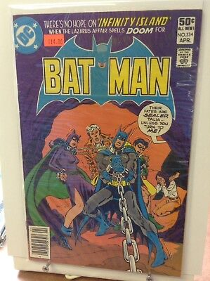 Batman Comics #334