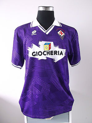 Authentic Fiorentina Home Football Shirt Jersey 1991/92 (XL) image