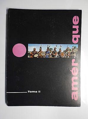 La géographie de l'amérique Tome 2 Timbre Tintin
