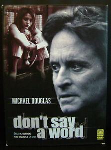 cofanetto-DVD-Nuovo-sigillato-film-Dvd-Don-039-t-say-a-word-ed-digipack-2-dischi