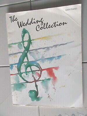 THE WEDDING COLLECTION EASY PIANO SHEET MUSIC SONG BOOK CPP BELWIN 1993 NEW RARE Wedding Easy Piano