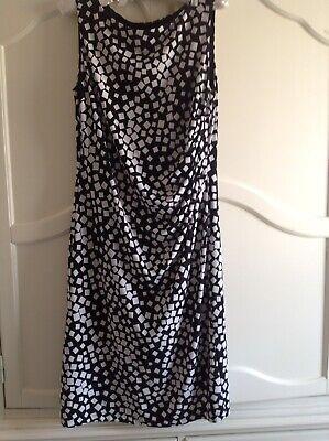 Ladies Jessica Howard, Black/White Dress Size10, Excellent Condition