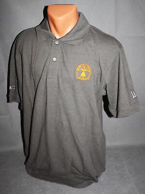 Licher Bier Beer Herren Man Men Polo Shirt von Jako Gr. L Grau Sport NEU OVP