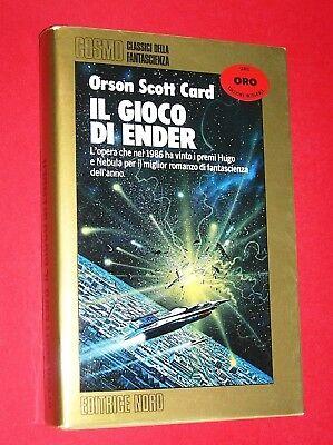 COSMO ORO N. 87 IL GIOCO DI ENDER  ORSON SCOTT CARD -ED. NORD 1987