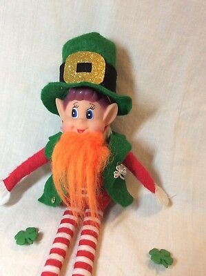 St Patrick's Leprechaun Outfit Costume Naughty Elf Doll On Shelf Ideas - Doll Costume Idea