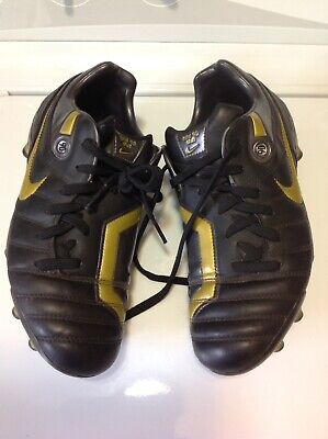 8753f9ac0d5 Nike Total 90 Shift Soccer Cleats Size 5.5 Black   Gold