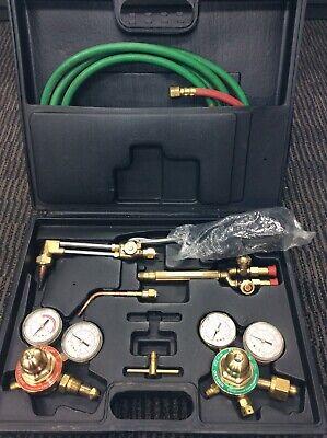 Ioxygen I Oxygen Welding Torch Vm-221 Oxy Acetylene Hoses Regulators Guages Kit