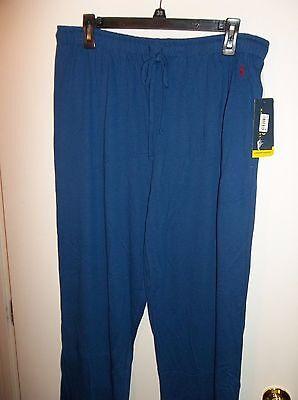 NWT Mens Small Royal Polo Ralph Lauren Sleep Lounge Pants New $42