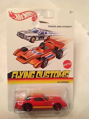 Hot Wheels 2013 Retro Flying Customs Red '81 Camaro