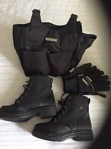 Winter riding boots and gloves Kawartha Lakes Peterborough Area image 1