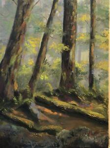 Peinture à l'huile - Le sentier - 12x16 po