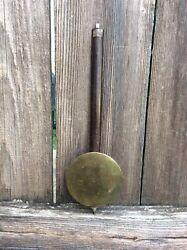 Antique Original American Wall Clock Pendulum