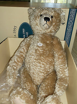 STEIFF Teddy Bear 1909 Replica 65cm Blond  Limited Edition LE ~ NEW in BOX