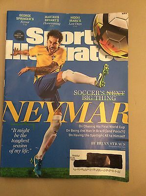 SPORTS ILLUSTRATED Neymar, Brazil Barcelona, Donald Trump August 7, 2017