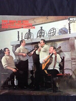 THE BEST OF THE CLANCY BROTHERS & TOMMY MAKEM 1970 Emerald LP GEM1030 Irish folk