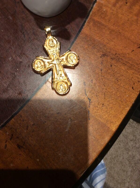 Alva Museum Replica Cross Pendant