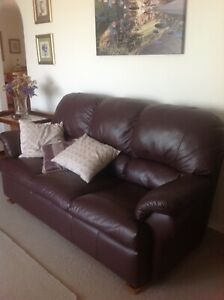 Three seater and two recliners sofa