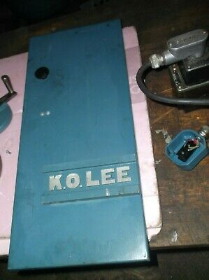 K.o. Lee Tool Cutter Grinder Door