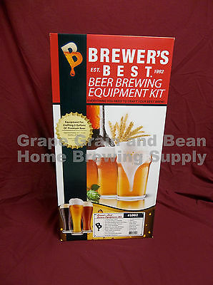 Brewers Best (BEAST) Home Brewing Equipment Kit, Beer Making Equipment Kit