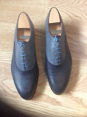 J.M.Weston Lezard Shoes Commande Special ( Made To Order) Size 10E