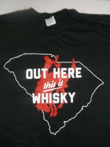 "Pendleton Whisky South Carolina T-Shirt Unisex XL ""Out Here This Is Whisky"""